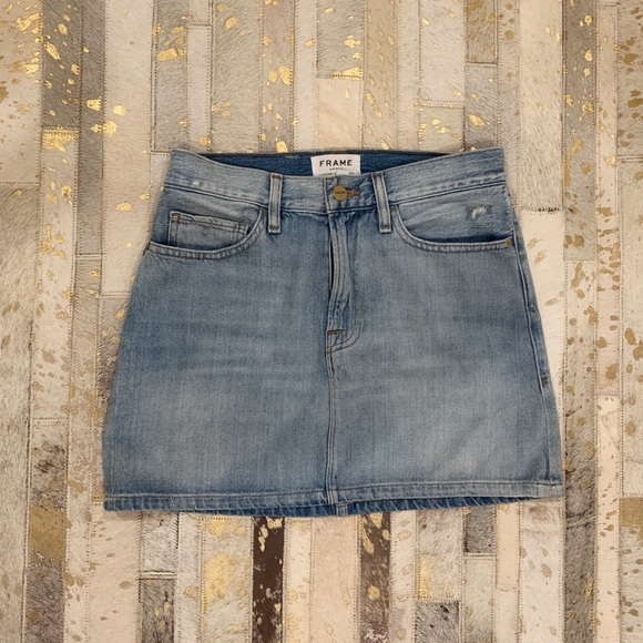Frame Denim Dresses & Skirts - FRAME jean skirt